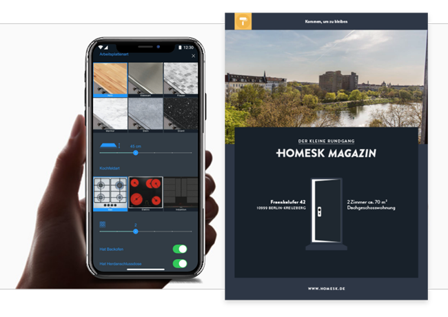 Homesk-App